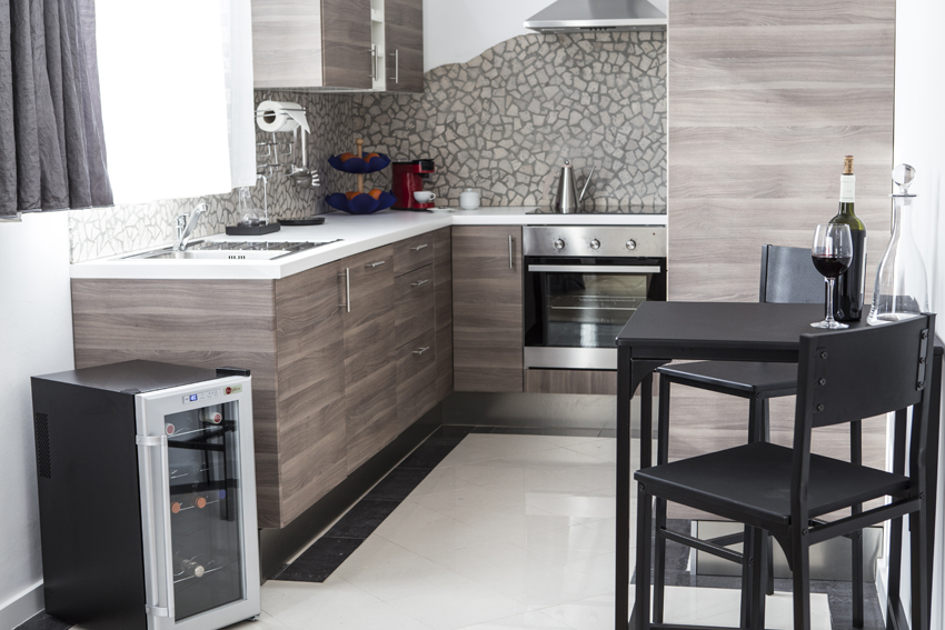 Kitchen at Villa Marilyn Apartments - Citybase Apartments