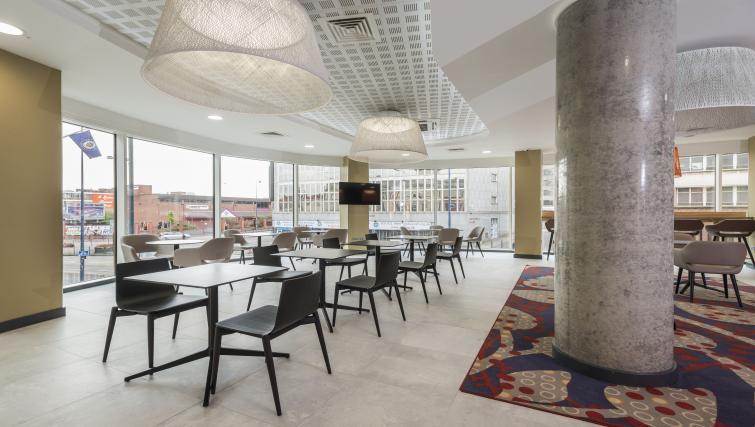 Breakfast room at Adagio Birmingham City Centre - Citybase Apartments