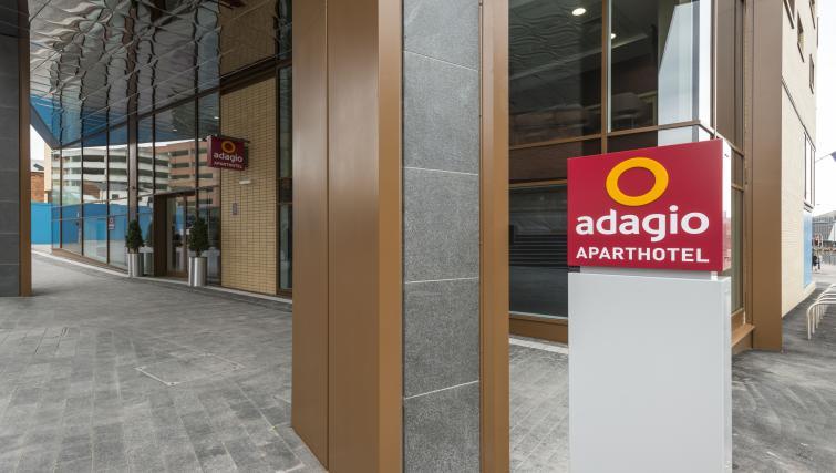 Entrance of Adagio Birmingham City Centre - Citybase Apartments