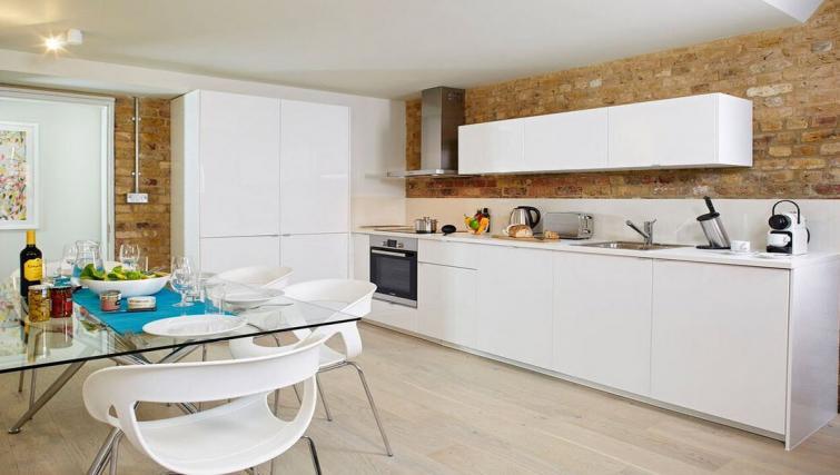 Kitchen at Oakwood Leather Lane - Citybase Apartments