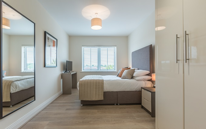 Bedroom at The Heights at Athena Court - Citybase Apartments