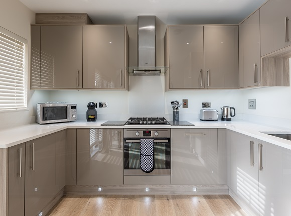 Kitchen at The Heights at Athena Court - Citybase Apartments
