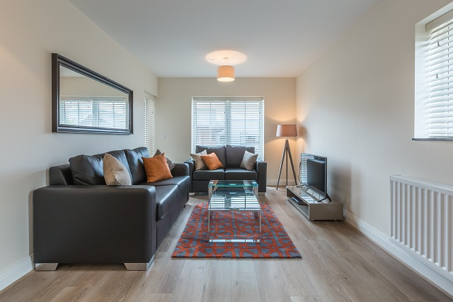 Lounge at The Heights at Athena Court - Citybase Apartments
