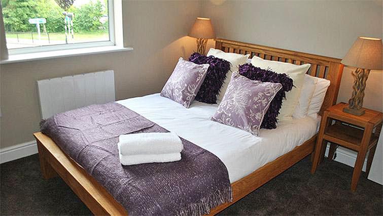 Bedroom at Lord Raglan House - Citybase Apartments