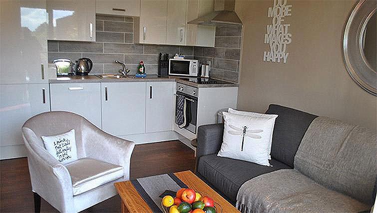 Kitchen at Lord Raglan House - Citybase Apartments