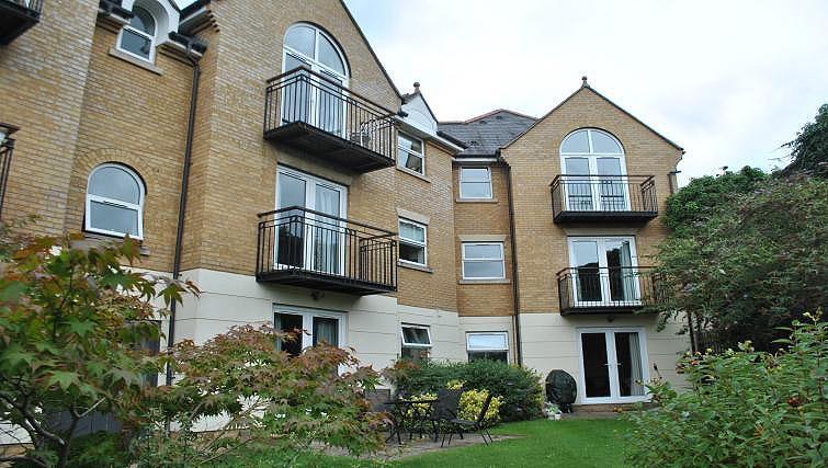 Exterior of Lord Raglan House - Citybase Apartments