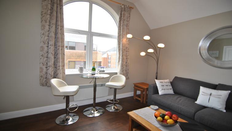 Living room at Lord Raglan House - Citybase Apartments