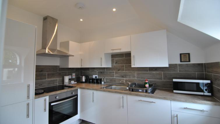 Equipped kitchen at Lord Raglan House - Citybase Apartments