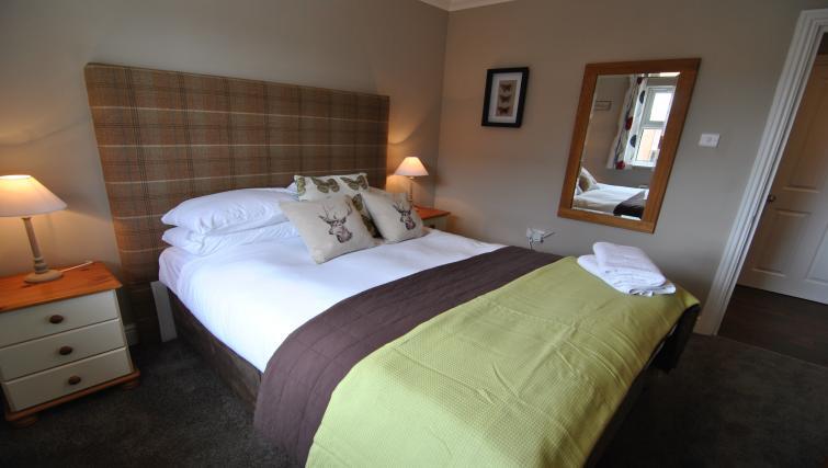 Bed at Lord Raglan House - Citybase Apartments