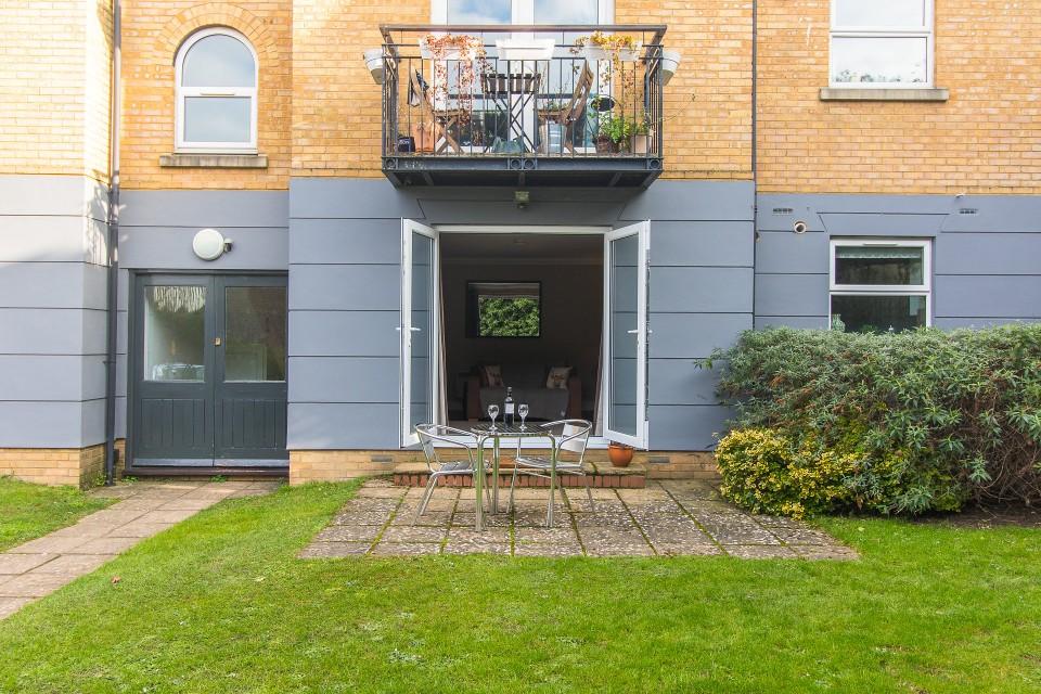 Garden at  Lord Raglan House - Citybase Apartments