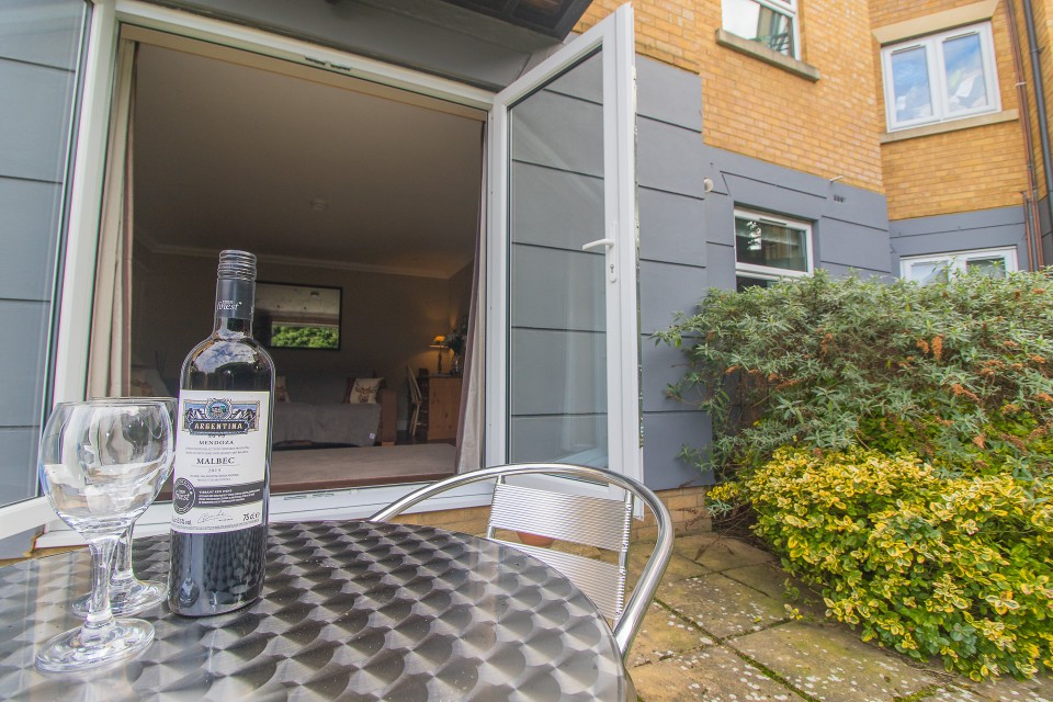 Terrace at  Lord Raglan House - Citybase Apartments