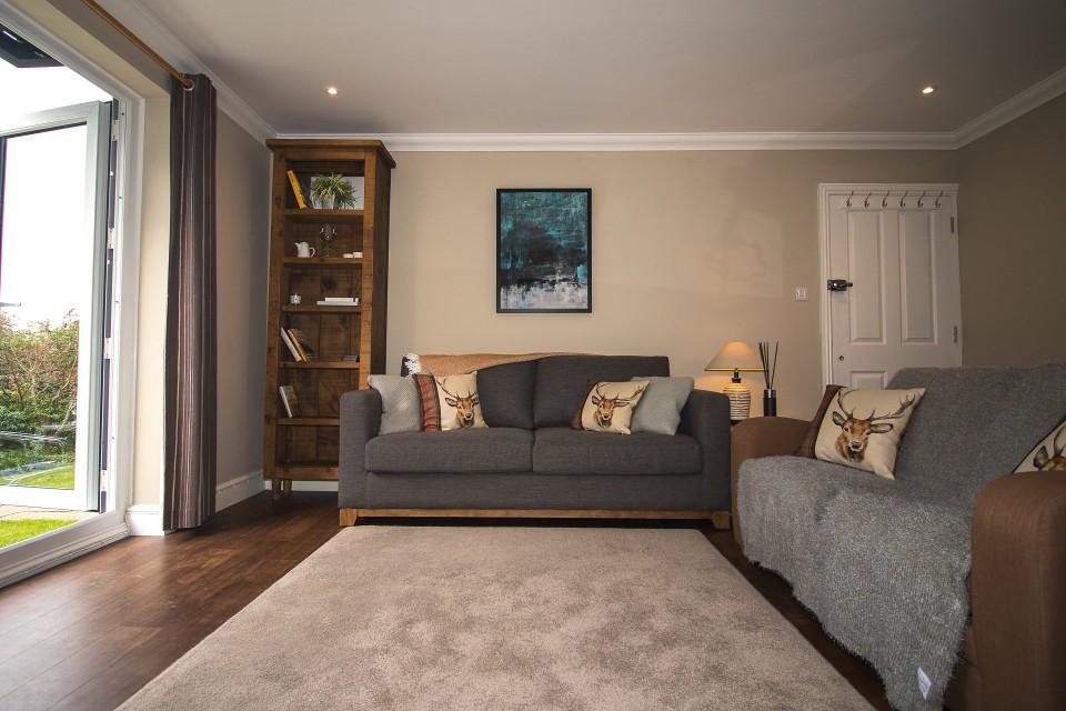 Sofa at  Lord Raglan House - Citybase Apartments