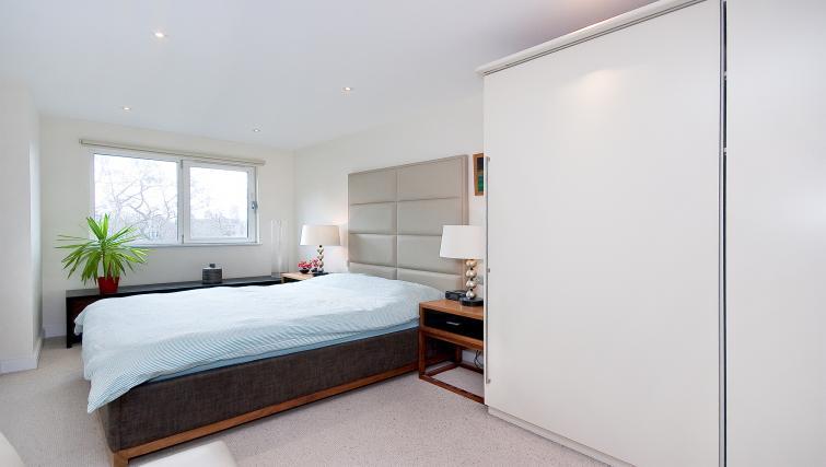 Bed at Still Life Barbican - Citybase Apartments