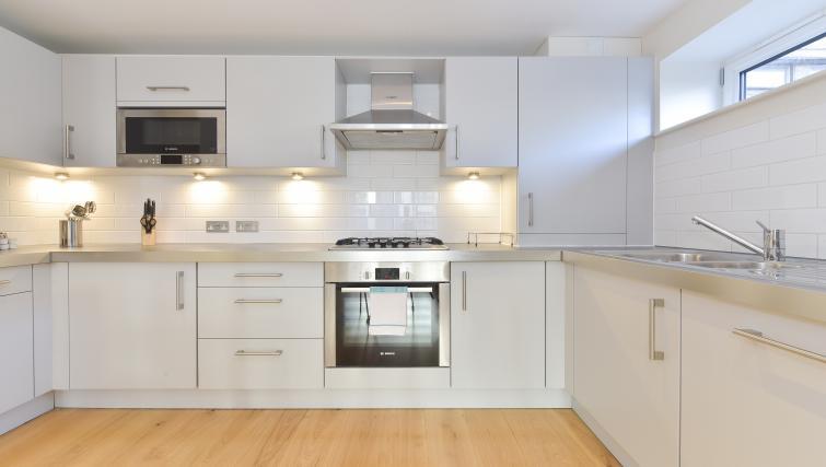 Kitchen at Still Life Barbican - Citybase Apartments