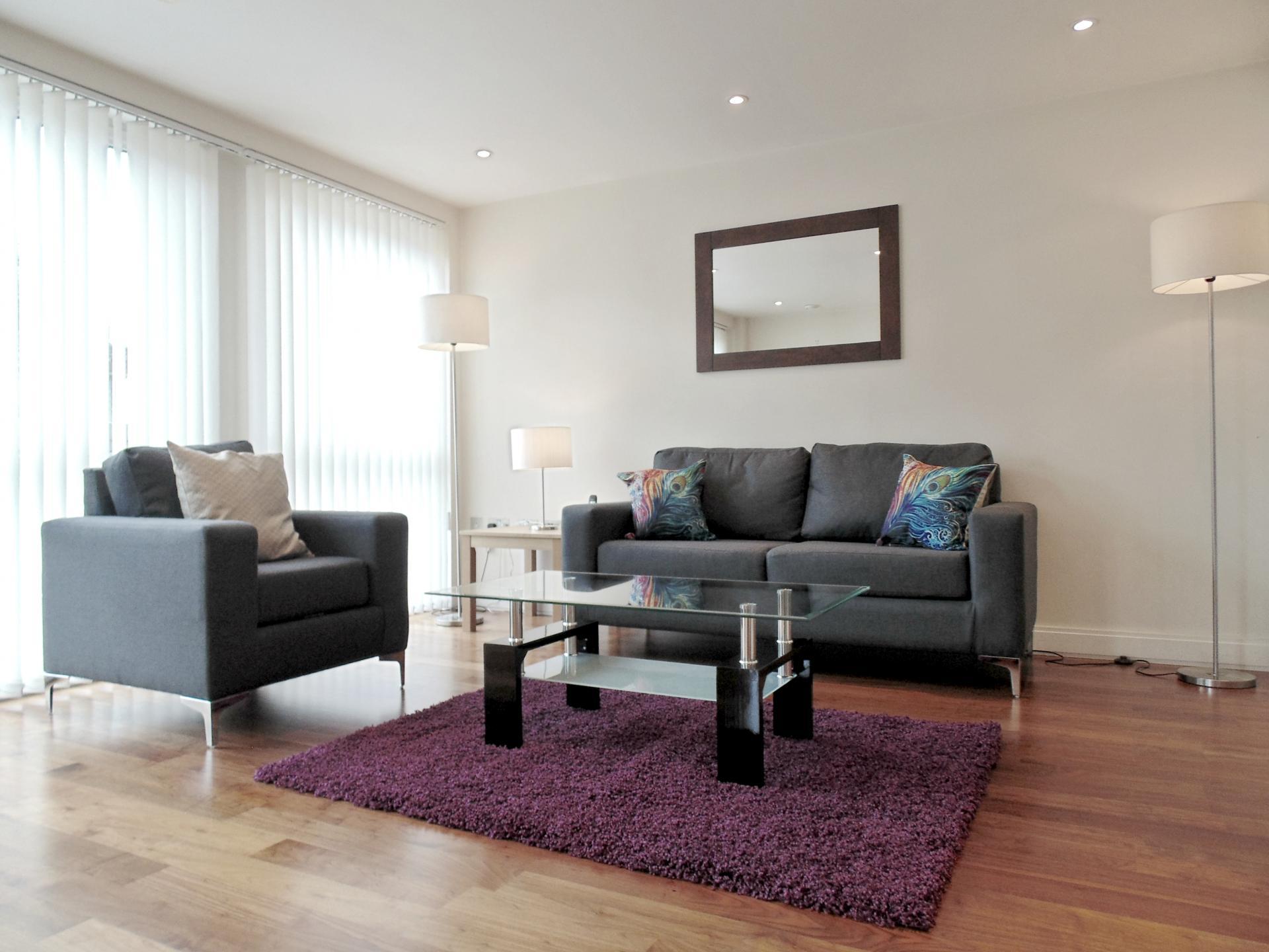 Lounge at Still Life Barbican - Citybase Apartments