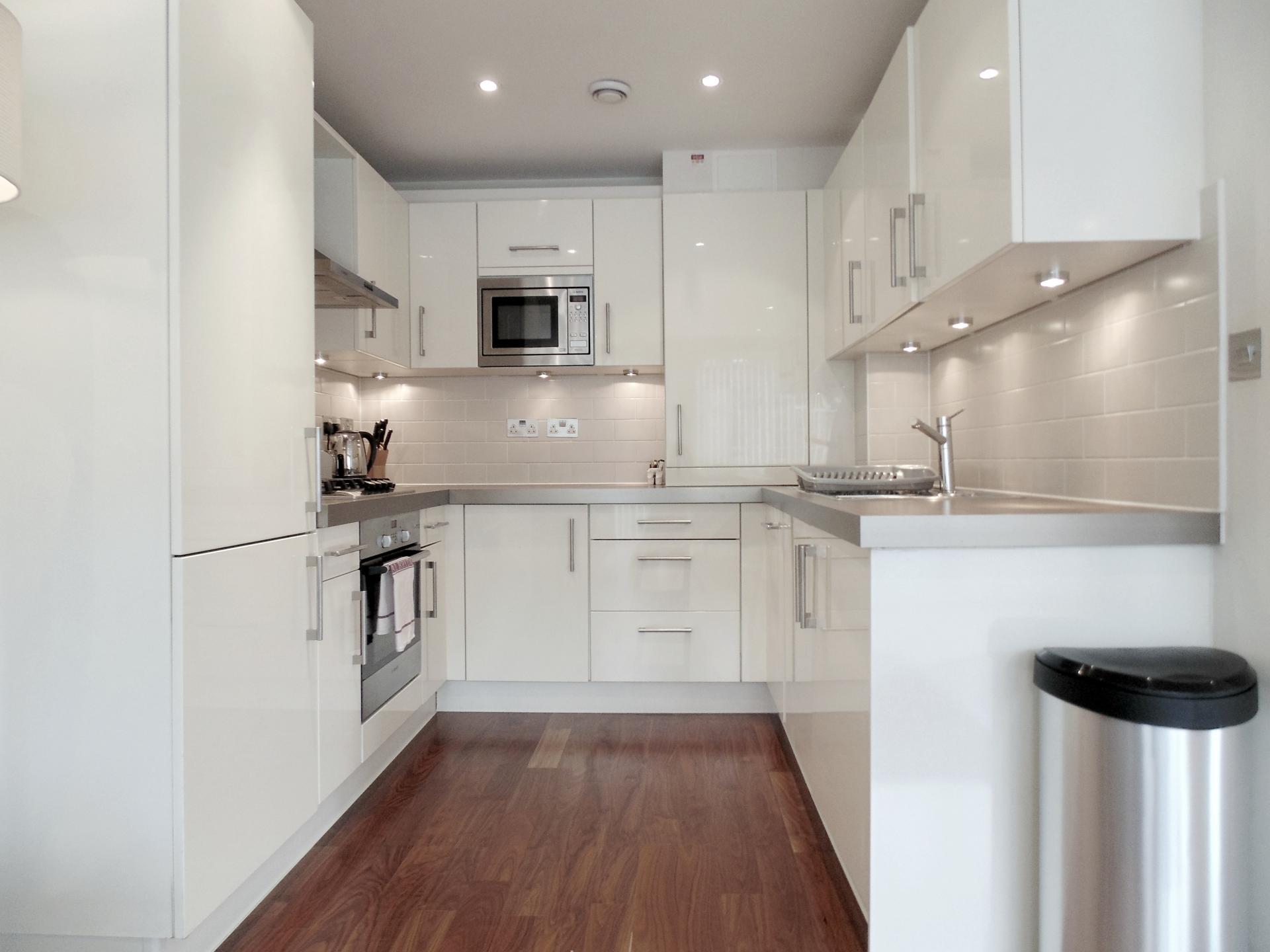 Modern kitchen at Still Life Barbican - Citybase Apartments