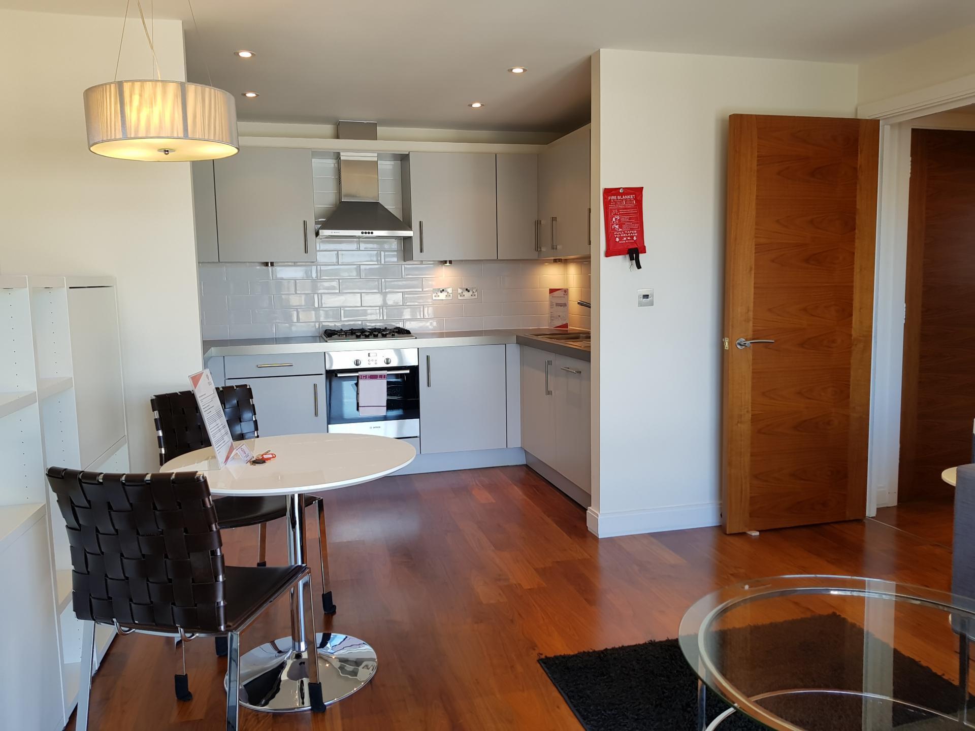 Dining table at Still Life Barbican - Citybase Apartments