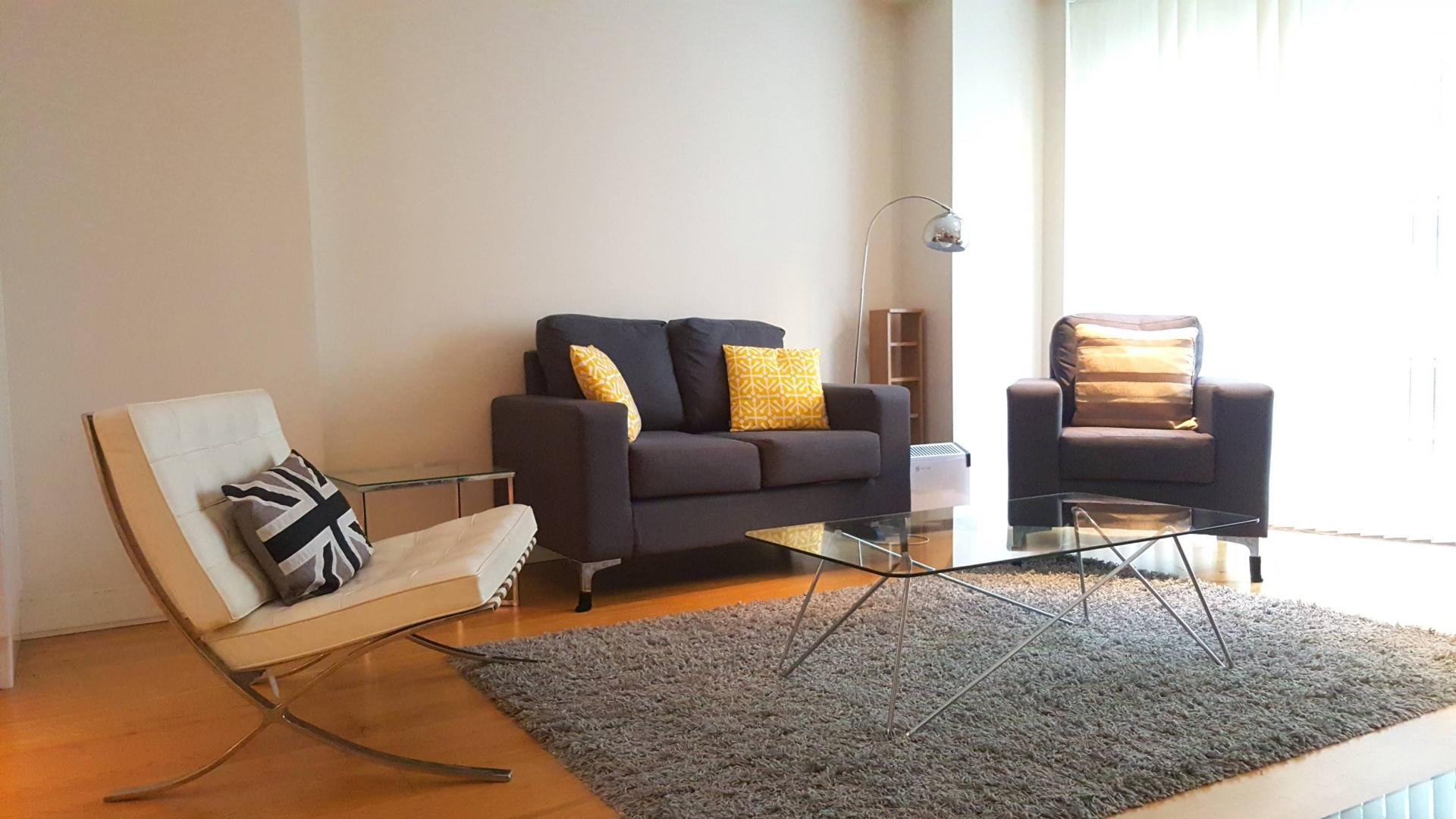 Living room at Still Life Barbican - Citybase Apartments