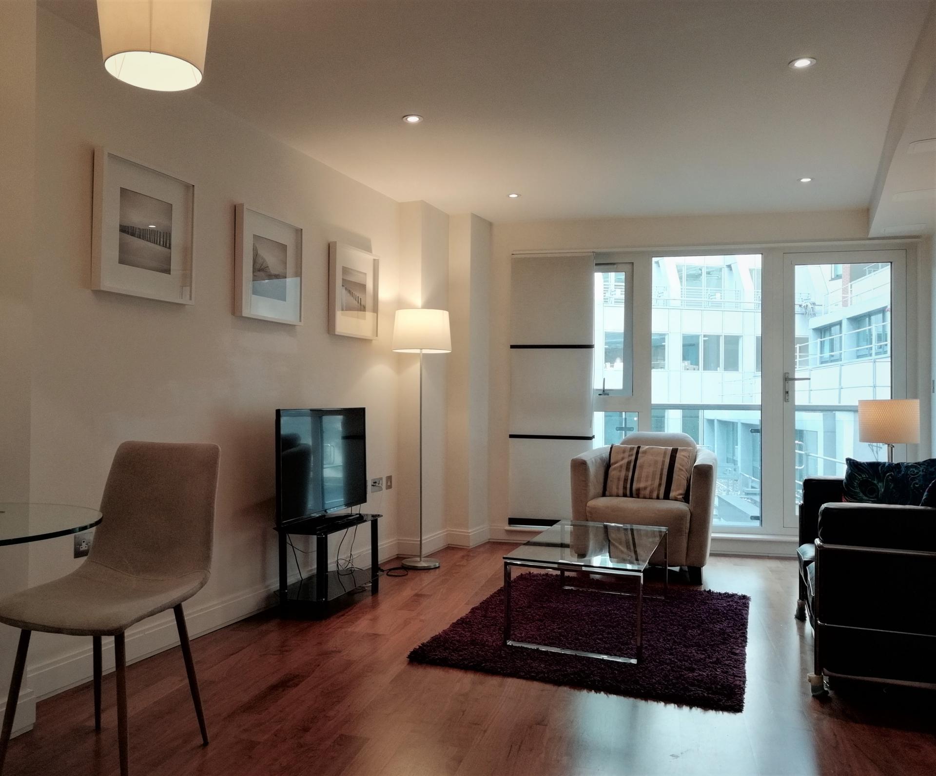 Lounge at Still Life Barbican, Barbican, London - Citybase Apartments