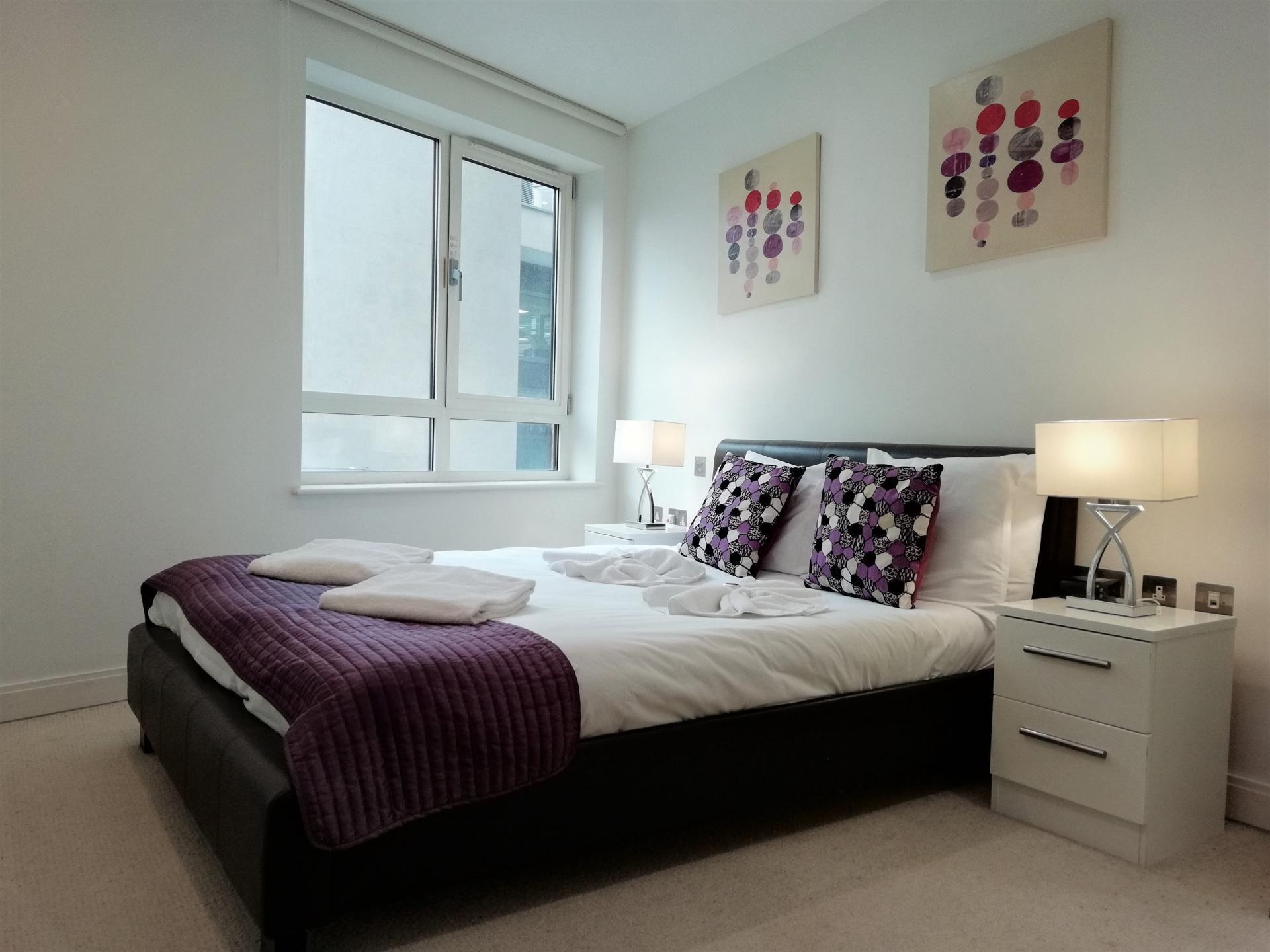Bedroom at Still Life Barbican, Barbican, London - Citybase Apartments