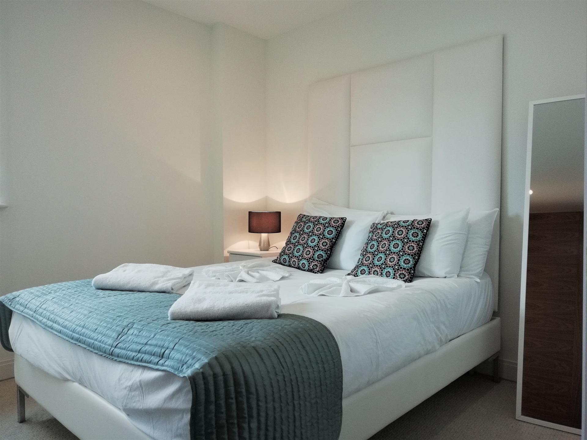 Bed at Still Life Barbican, Barbican, London - Citybase Apartments