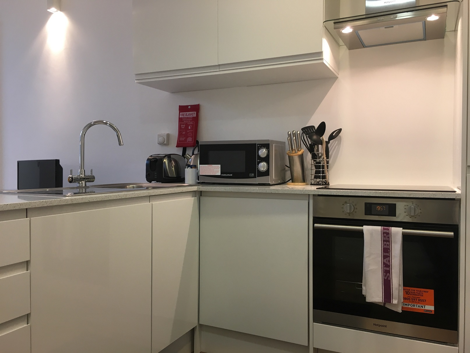 Kitchen facilities at Still Life Chancery Lane Deluxe - Citybase Apartments