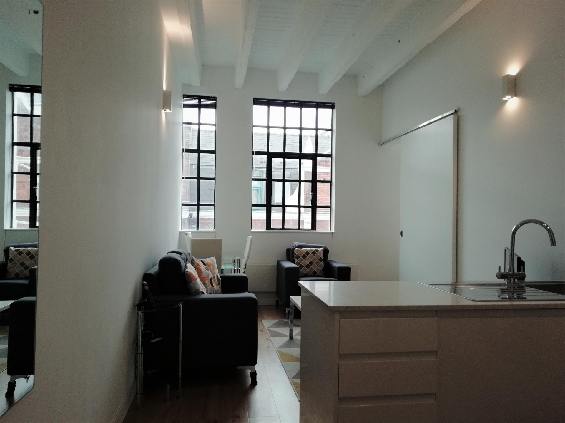 Lounge at Still Life Chancery Lane Deluxe - Citybase Apartments