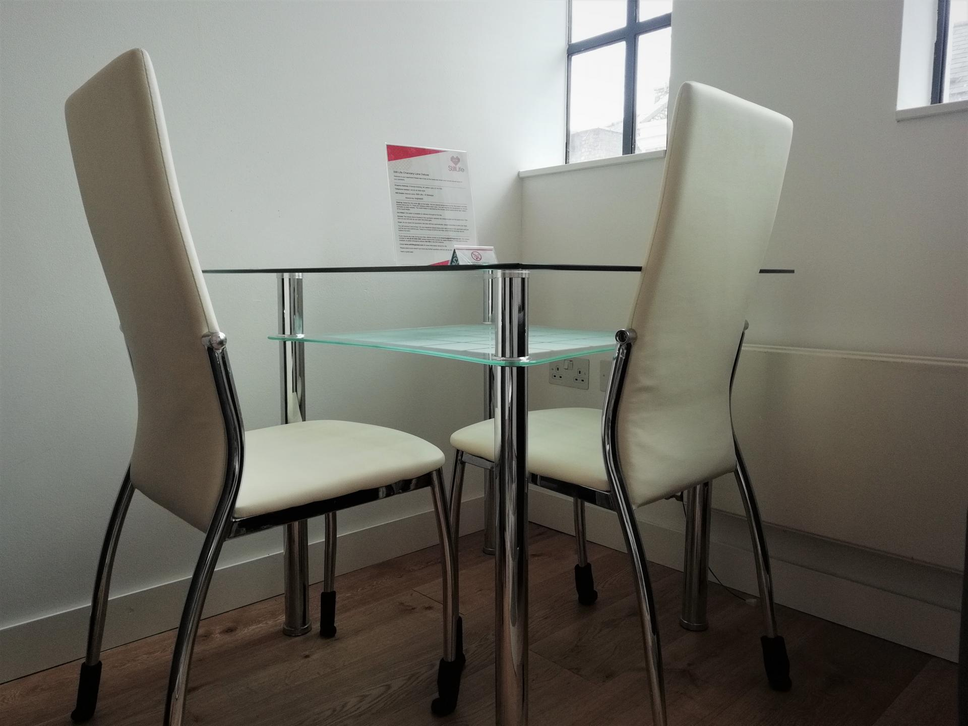 Dining at Still Life Chancery Lane Deluxe - Citybase Apartments