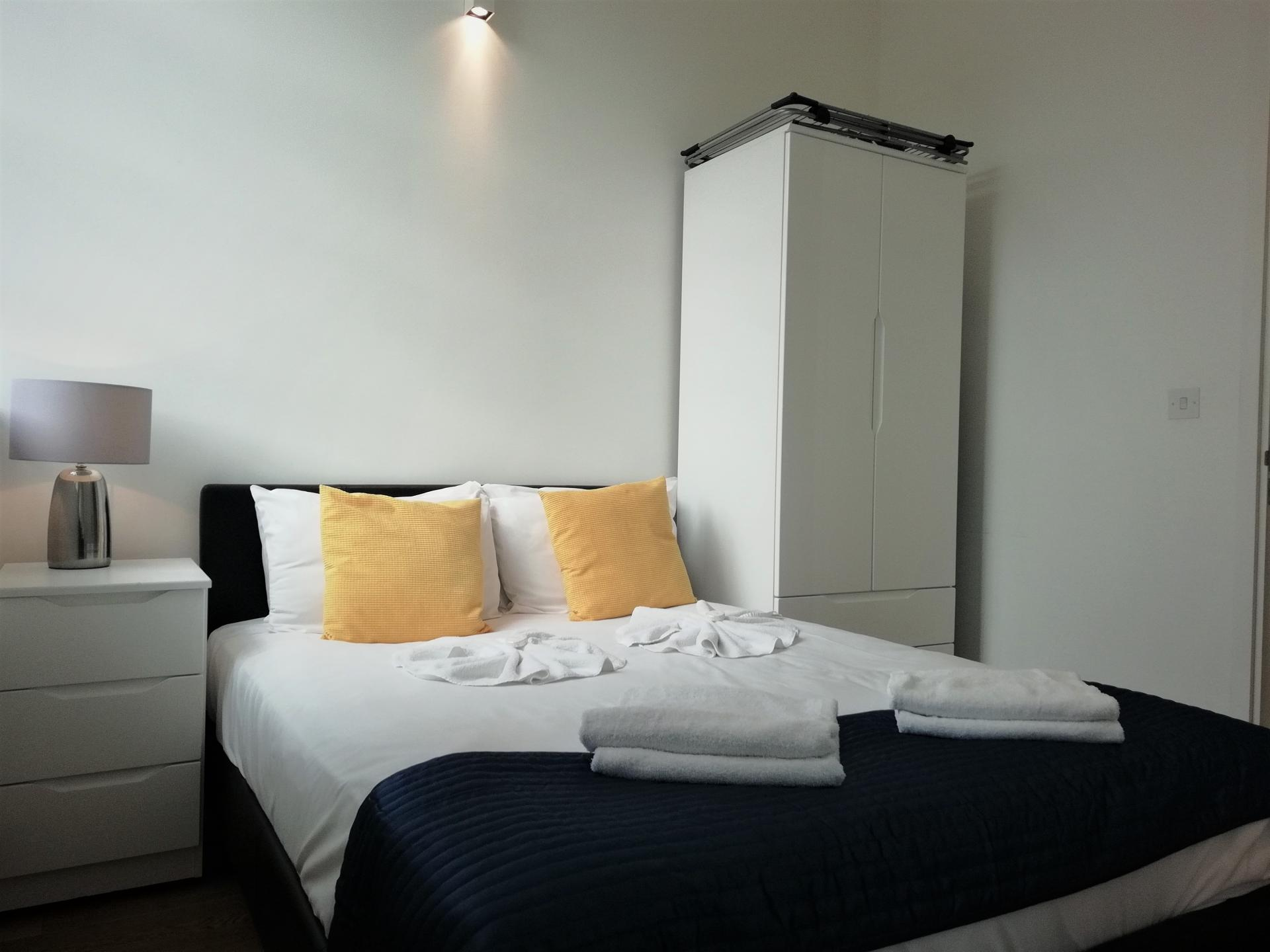 Bedroom at Still Life Chancery Lane Deluxe - Citybase Apartments