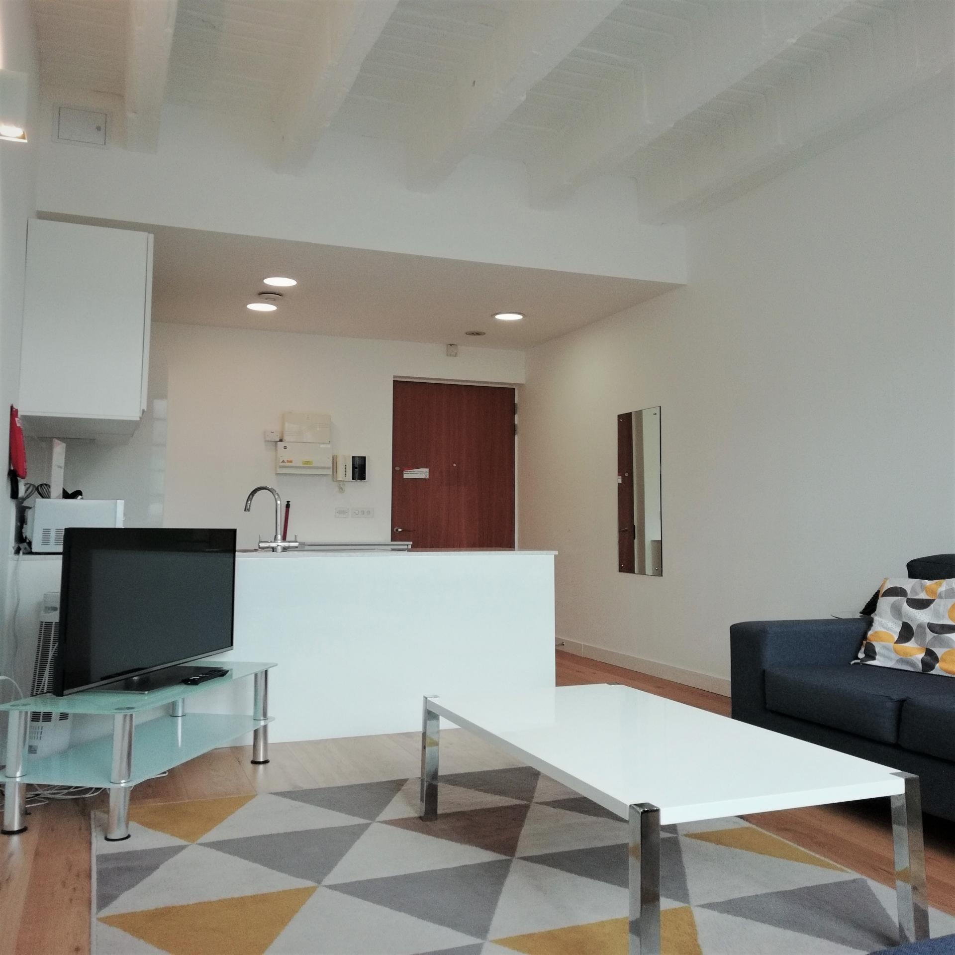 Open plan living at Still Life Chancery Lane Deluxe - Citybase Apartments