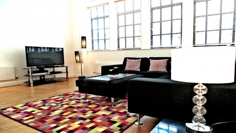 Living area at Still Life Chancery Lane Deluxe - Citybase Apartments