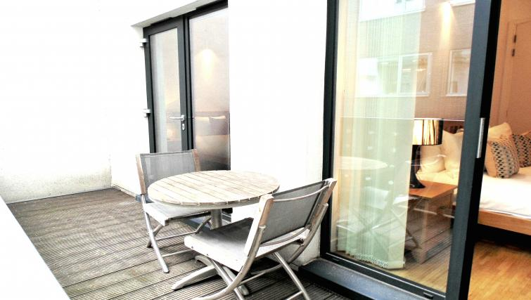 Balcony at Still Life Chancery Lane Deluxe - Citybase Apartments