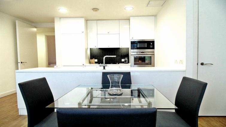 Kitchen at Still Life Chancery Lane Deluxe - Citybase Apartments