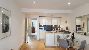 Modern kitchen at Still Life Tower Hill Deluxe - Citybase Apartments