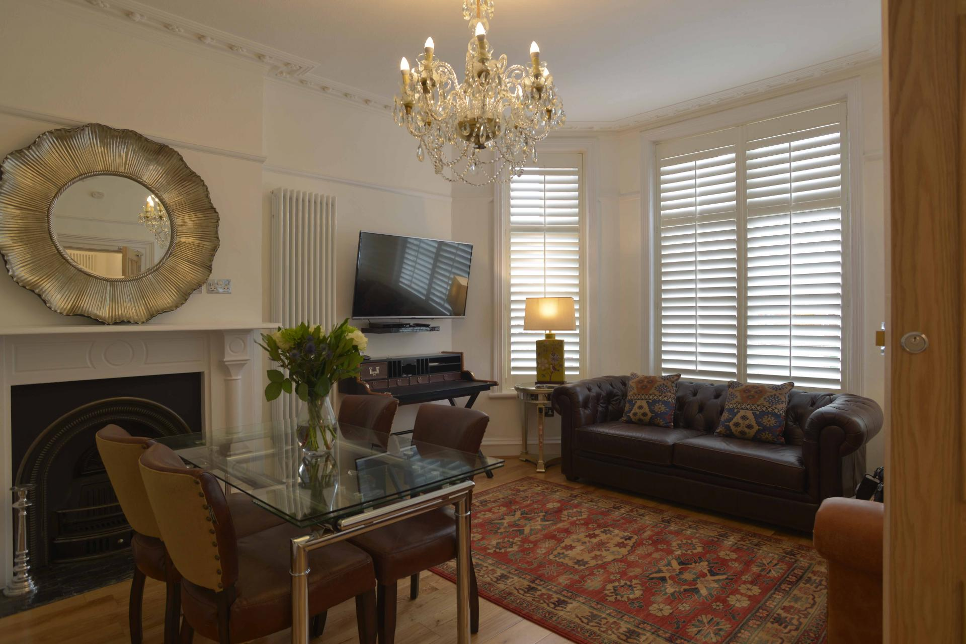 Living area at Hawk House, Centre, St Albans - Citybase Apartments