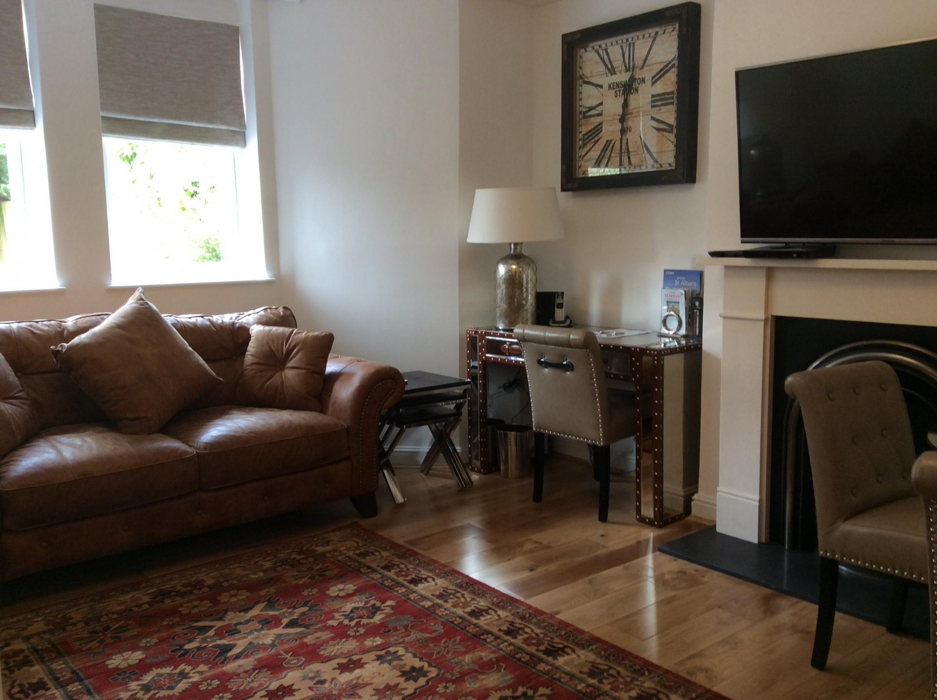 Lounge at Hawk House, Centre, St Albans - Citybase Apartments