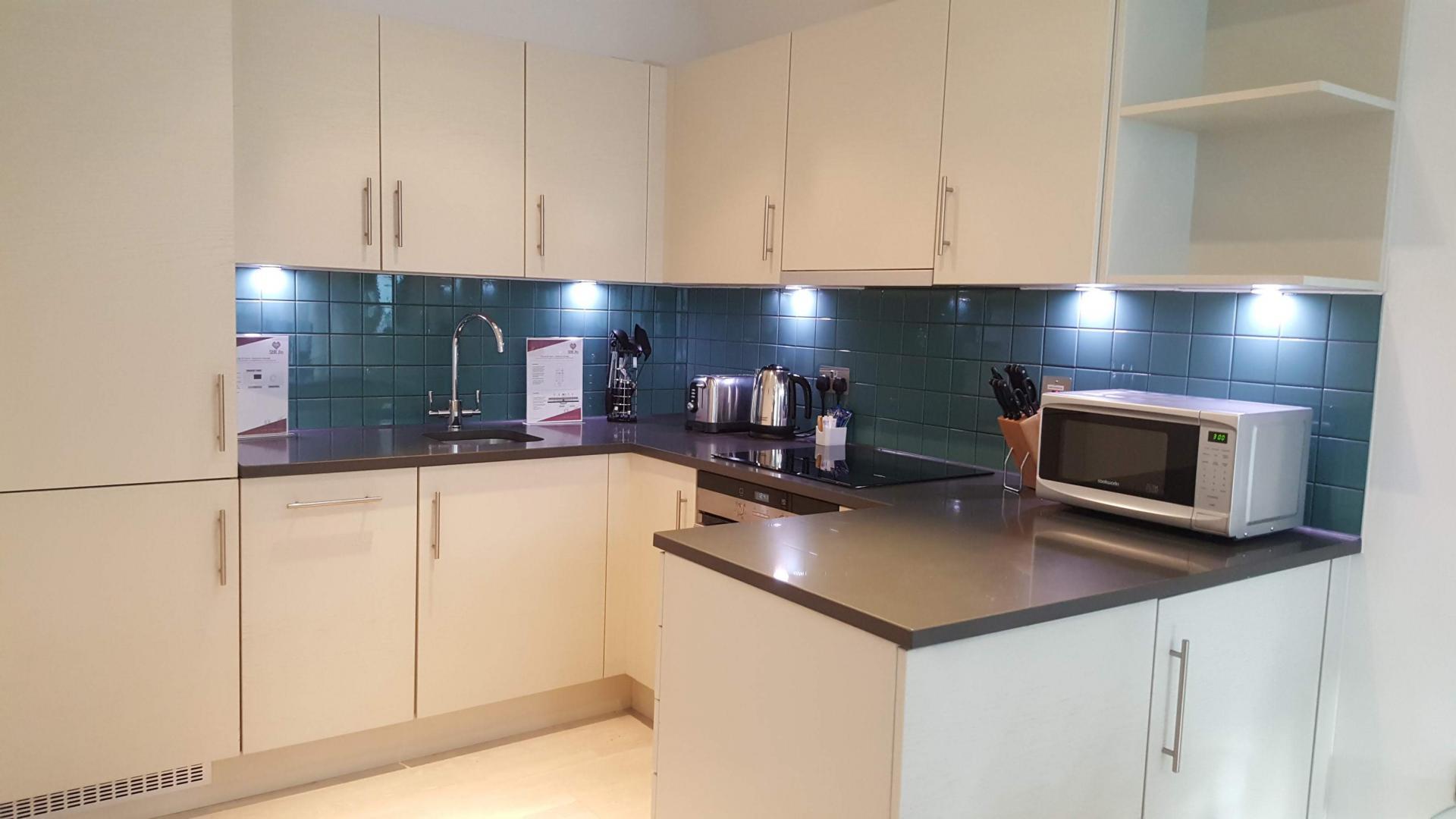 Kitchen facilitates at Still Life St Paul's Executive - Citybase Apartments