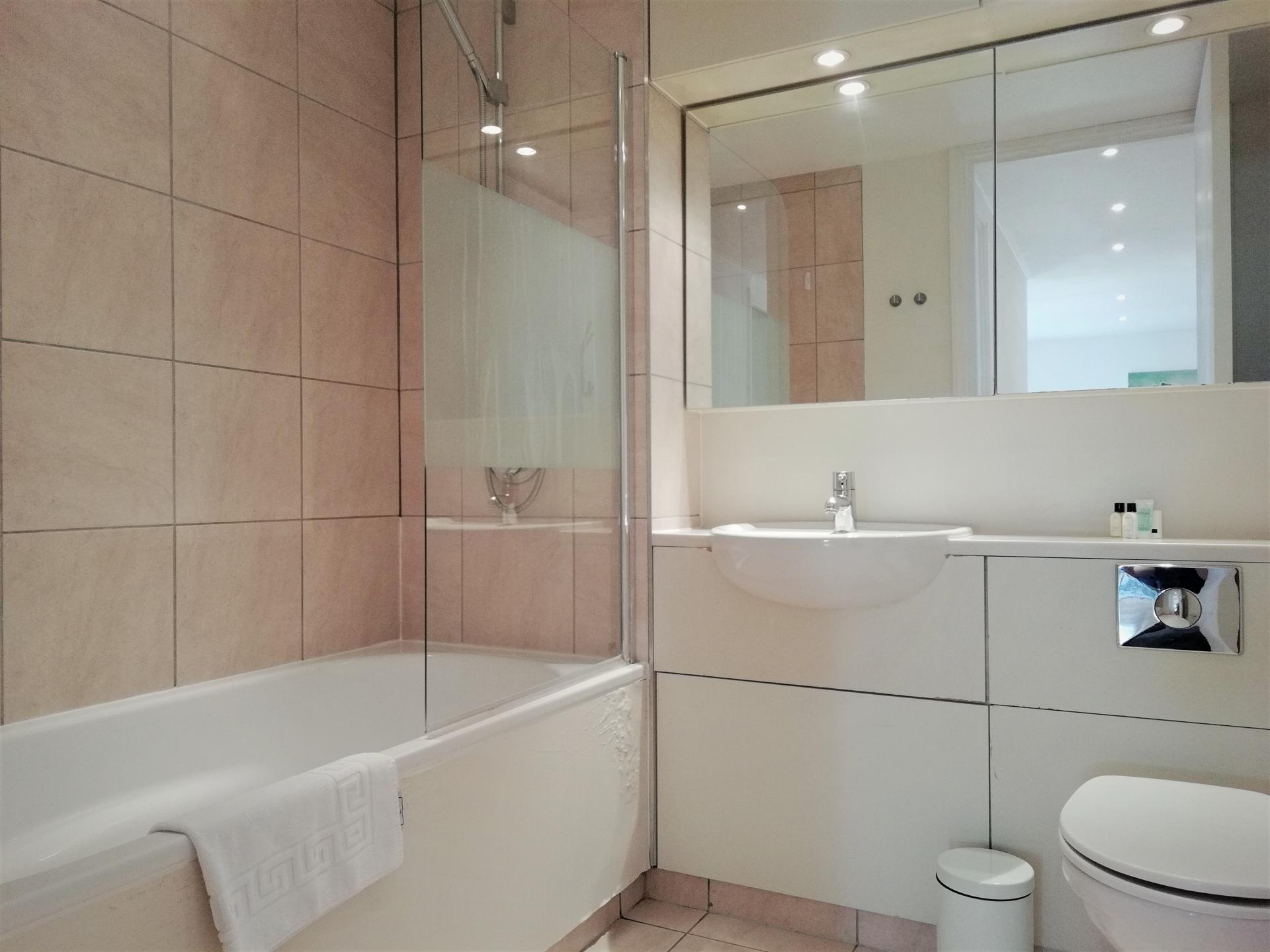 Bathroom at Still Life St Paul's Executive, Farringdon, London - Citybase Apartments