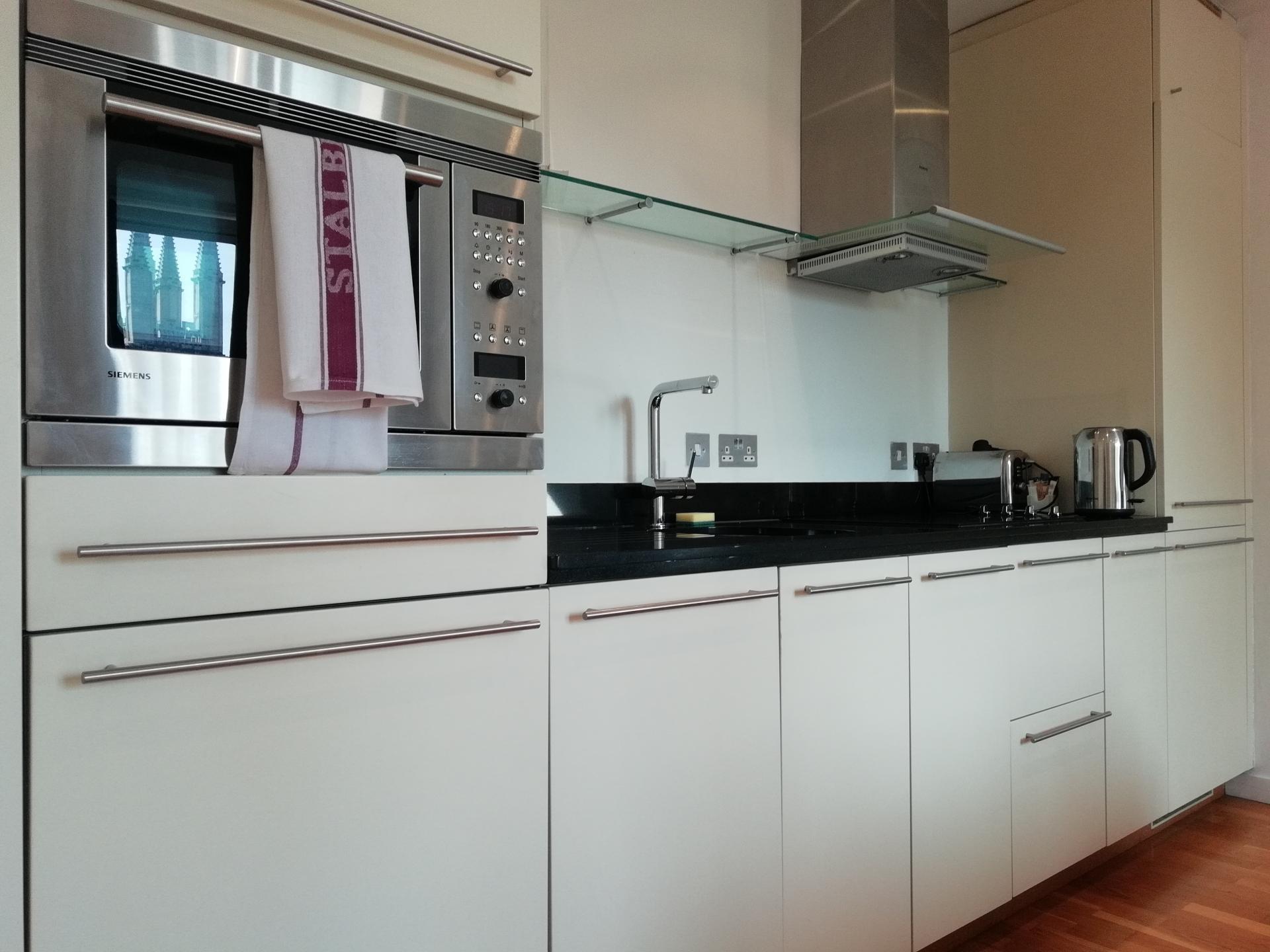 Kitchen at Still Life St Paul's Executive, Farringdon, London - Citybase Apartments