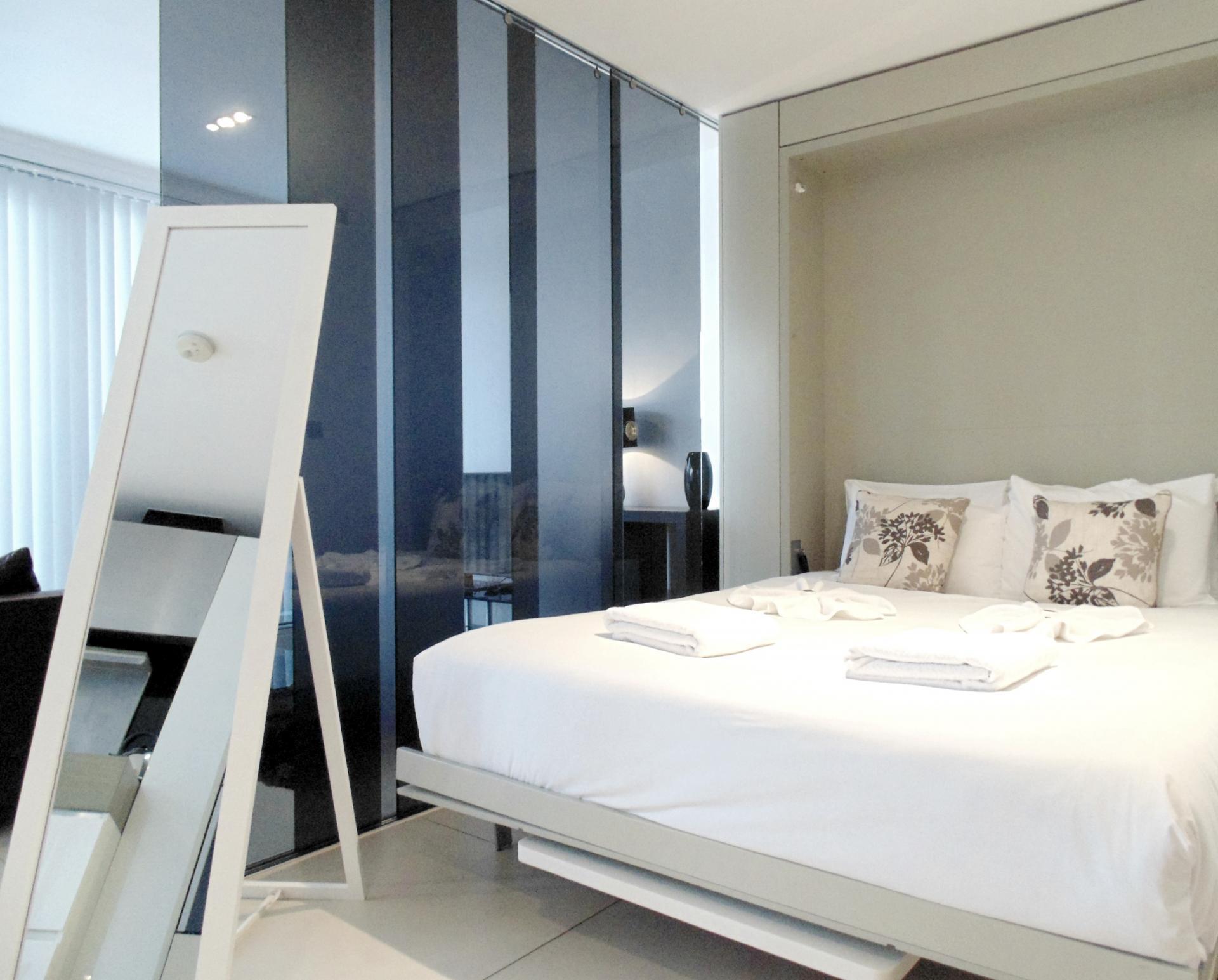 Bright bedroom at Still Life Old Street Executive - Citybase Apartments