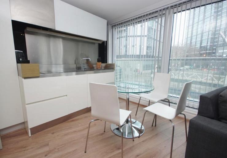 Modern kitchen area at Still Life Old Street Executive - Citybase Apartments