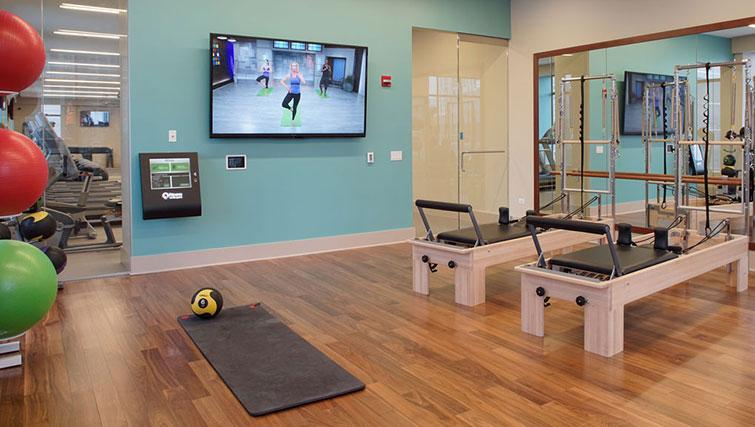 Fitness at Amli River North Apartments - Citybase Apartments