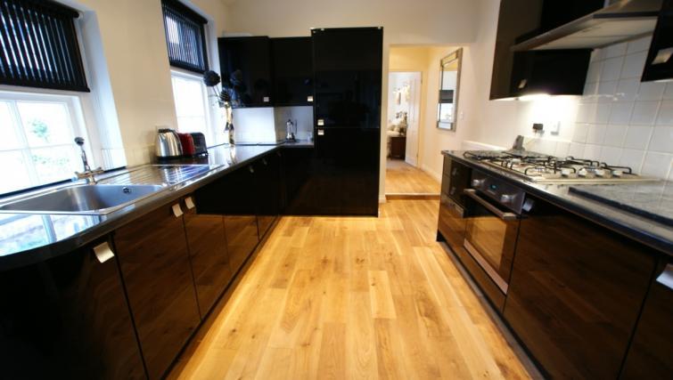 kitchen at Moatside Gate Apartment - Citybase Apartments