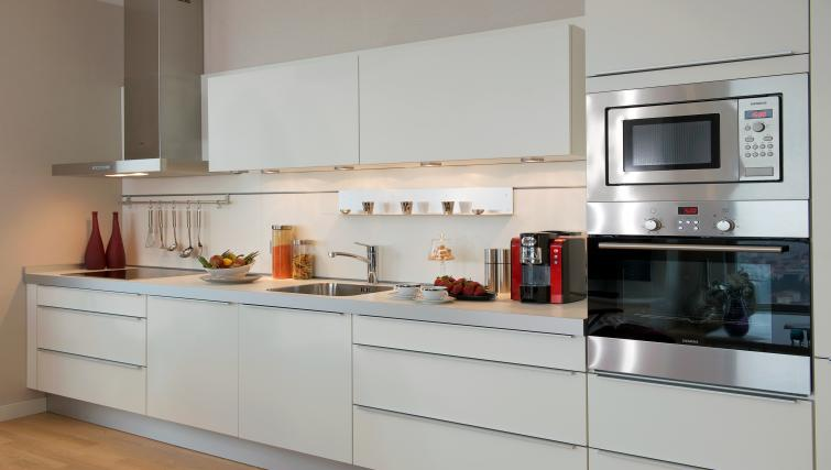 Kitchen at Fraser Place Anthill Istanbul - Citybase Apartments
