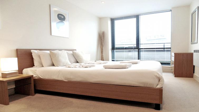 Bedroom at Still Life Southwark Executive - Citybase Apartments