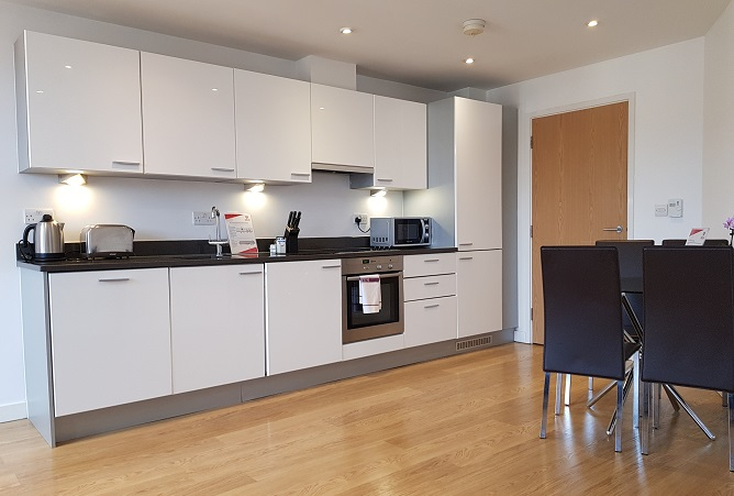 Kitchen facilities at Still Life Southwark Executive - Citybase Apartments