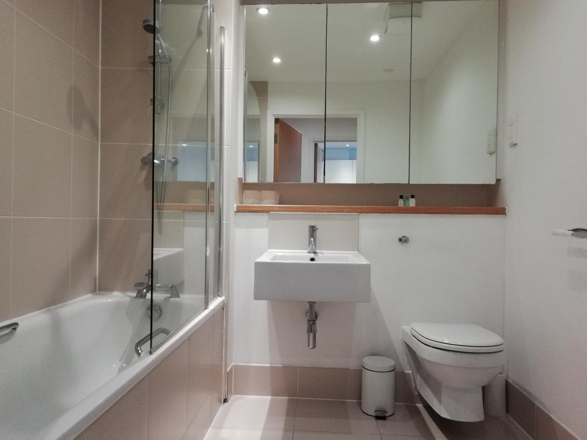 Bath at Still Life Southwark Executive, Southwark, London - Citybase Apartments