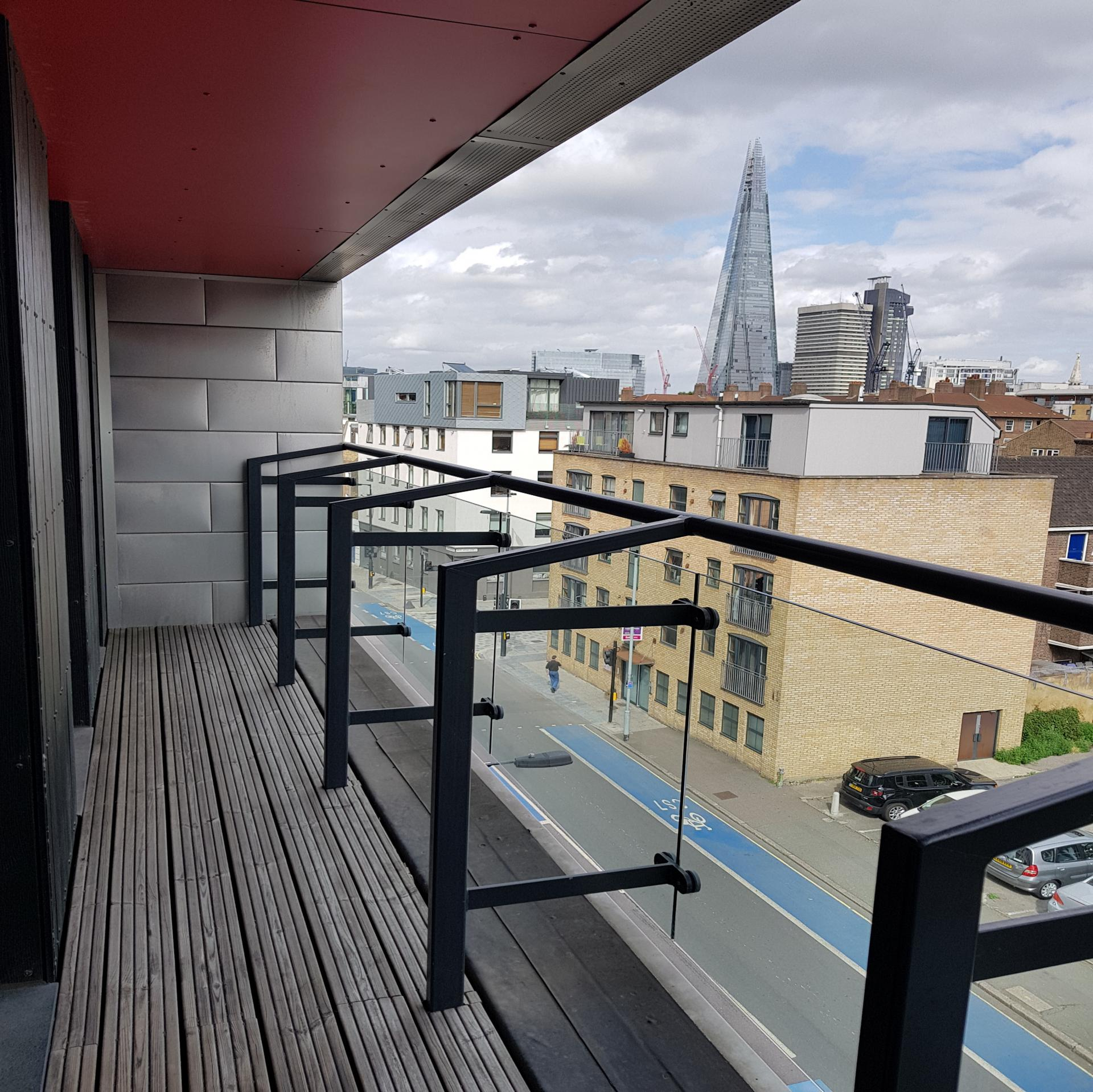Balcony at Still Life Southwark Executive, Southwark, London - Citybase Apartments