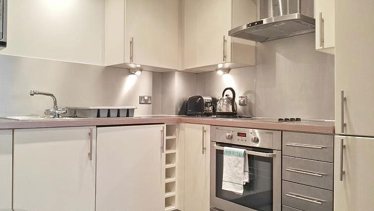 Kitchen at Still Life Clerkenwell Executive - Citybase Apartments