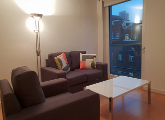 Lounge area at Still Life Clerkenwell Executive - Citybase Apartments